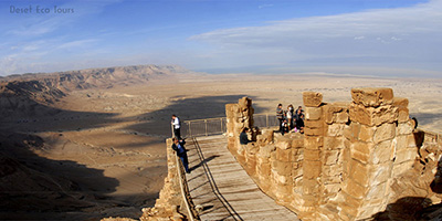 travel to Jordan from Israel via Massada
