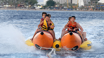 Water sport fun in Eilat