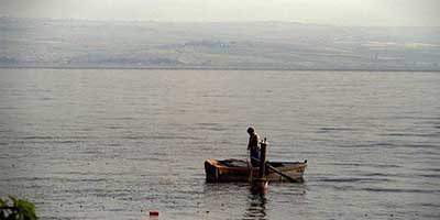 The sea of Galilee: Israel tours