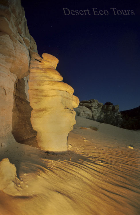 Night tour in the desert: Eilat Mts.