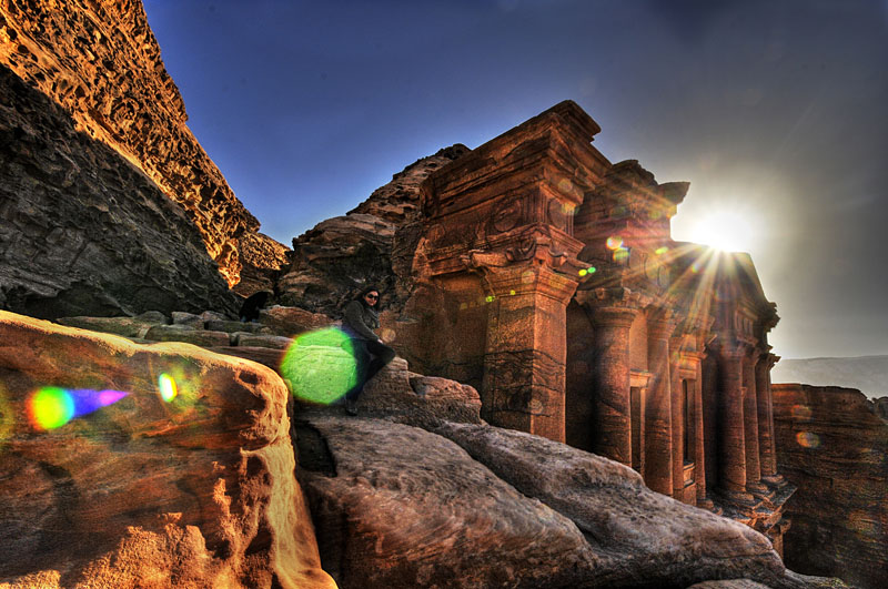 Jabel Adeir- the Monastery, Petra, Israel
