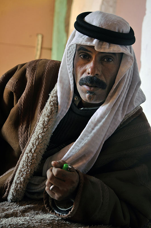 A Bedouin from Petra