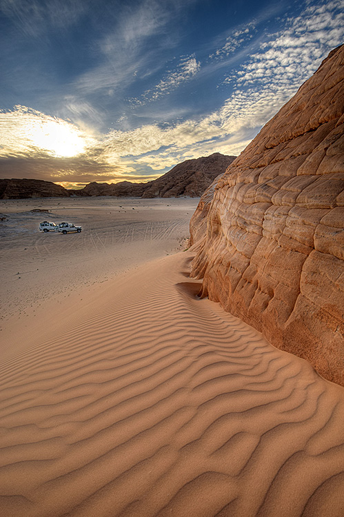 Jeep tours in the Sinai desert