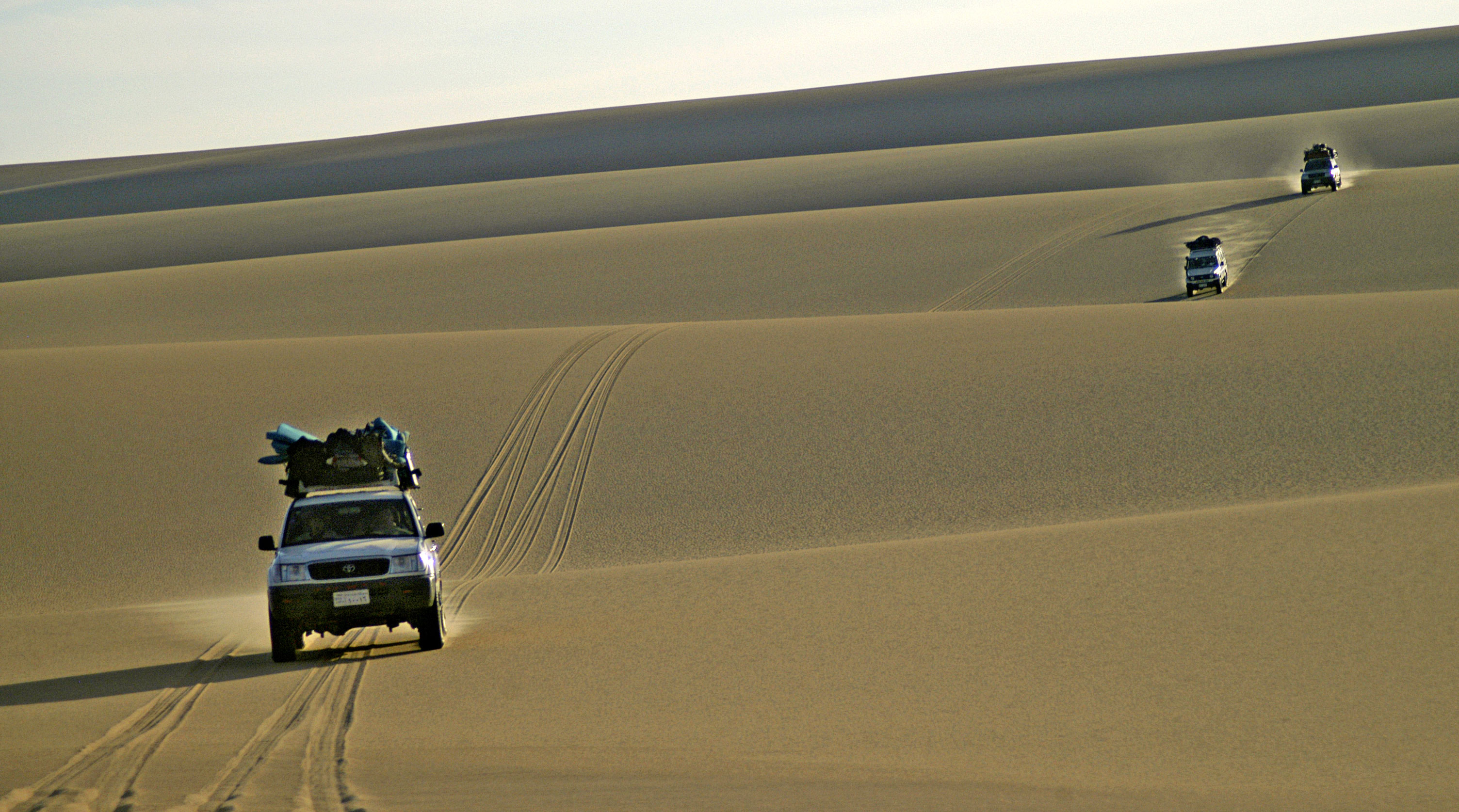 Jeep tours in Sinai desert- Egypt