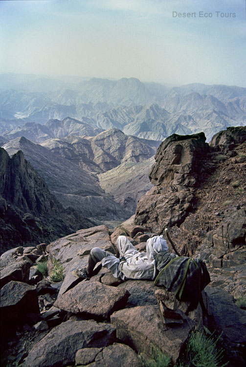 Trekking in the Mts. of Sinai