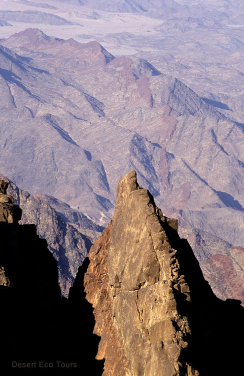 Trekking in the Sinai's High Range