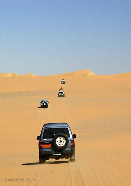 Jeep tours in the Sinai desert- Egypt