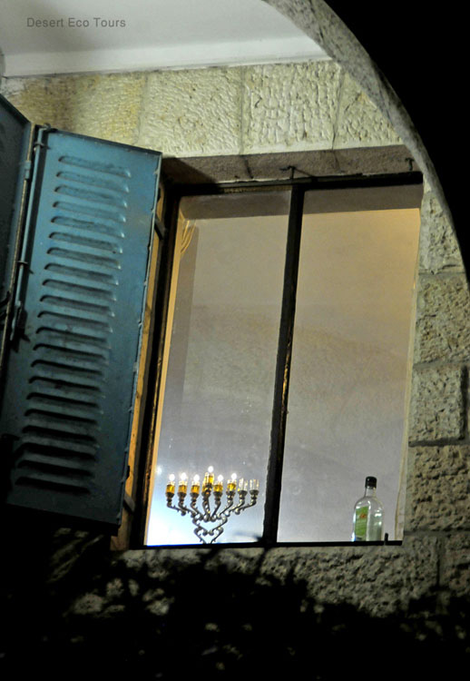 Hanukah in the Jewish quarter