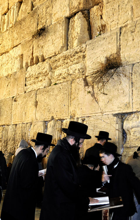 The Western Wall- Jerusalem