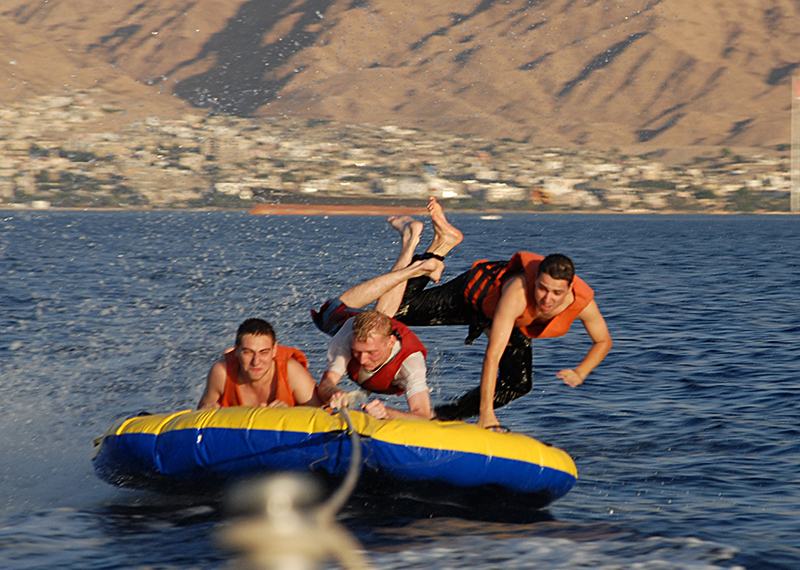Water sports in the Red Sea