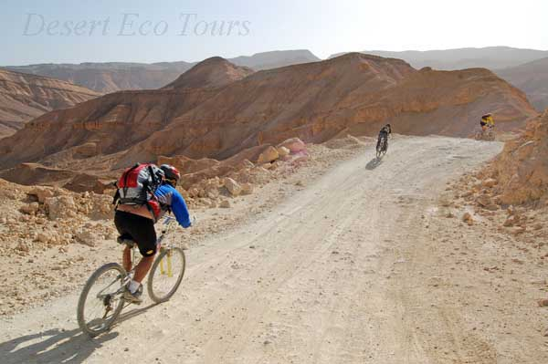 Biking tours in the Eilat Mts. southern Negev