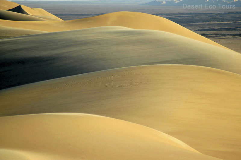 The great sea of sand, Western Desert, Egypt
