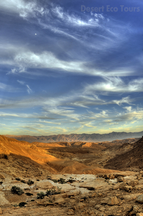 The Eilat Mts. jeep tour
