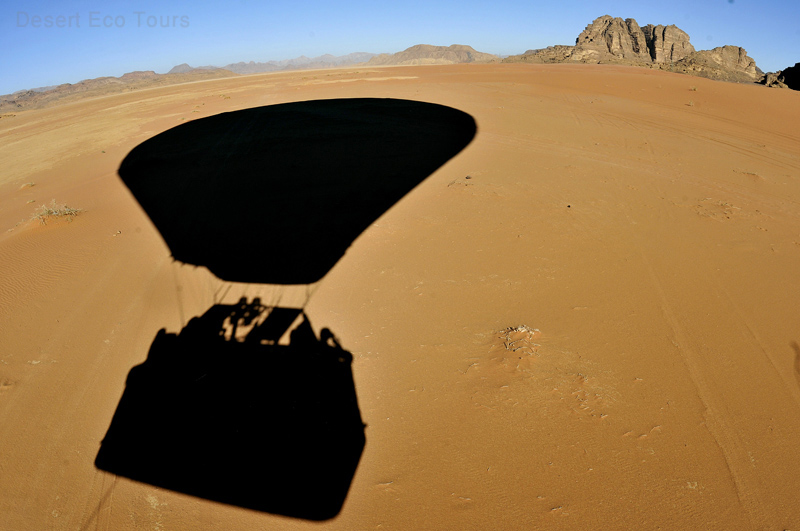 Air Balloon in Wadi Rum- Jordan tours