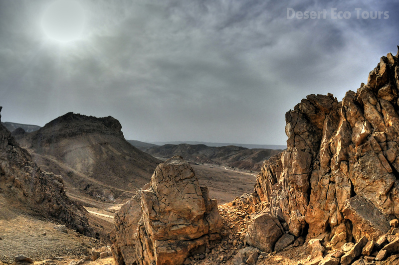 The Ramon Crater' Mitzpe Ramon
