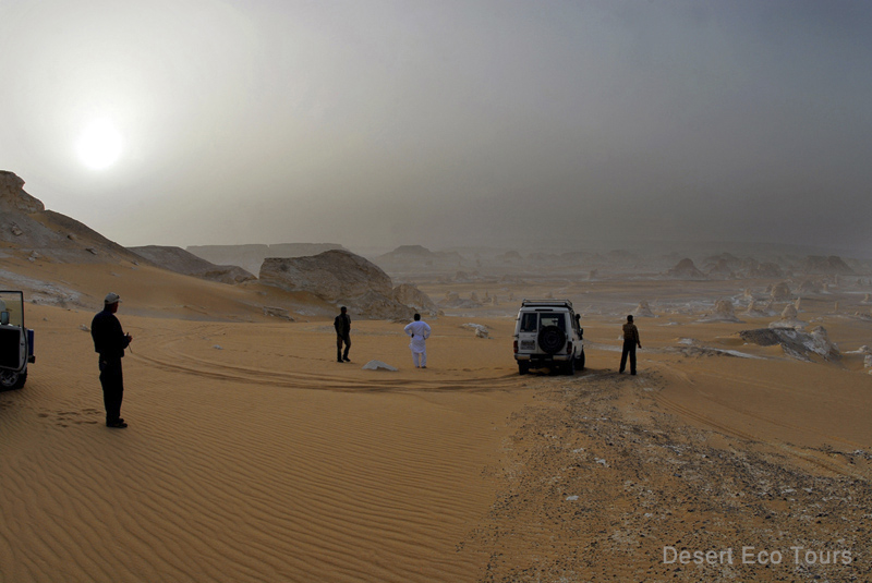 The White Desert jeep tours- the Western Desert