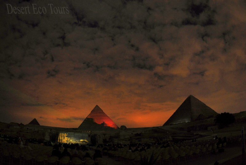 Sound & light show: The Pyramids